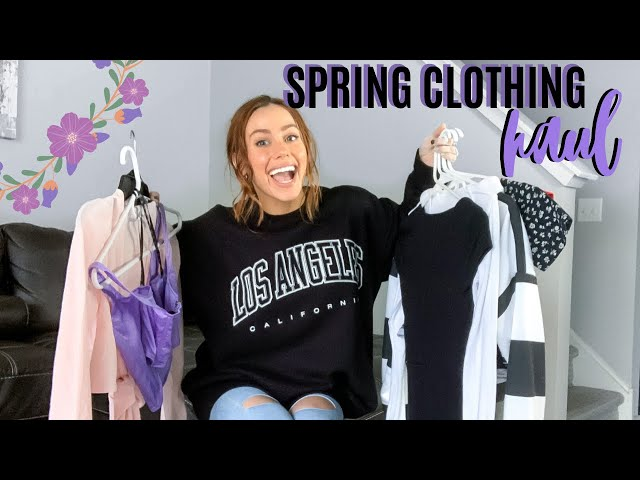 SPRING CLOTHING HAUL 2020 | Brandy Melville, MissGuided, PrettyLittleThing