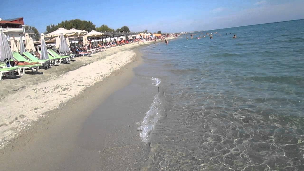 Olympic Beach Greece Youtube