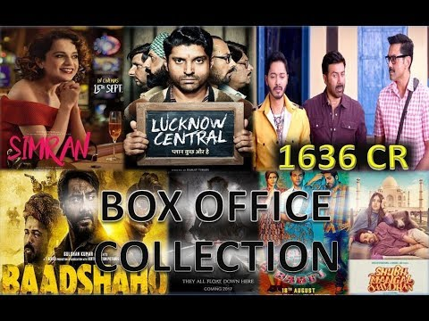 Box Office Collection Of Simran, Baadahaho, Lucknow Central, Poster Boys, IT etc 2017