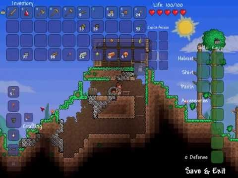 how to build a furnace in terraria