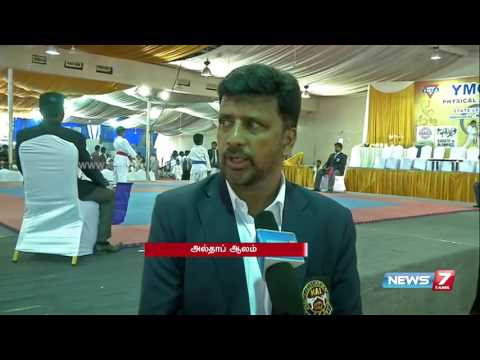 State level karate matches held at Chennai | News7 Tamil