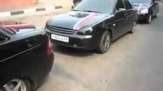 ZA-Auto.ru - Тамбовская свадьба на черных приорах