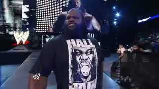 WWE SmackDown Mark Henry vs Ezekiel Jackson 09.03.2012.русс,озв от 545TV