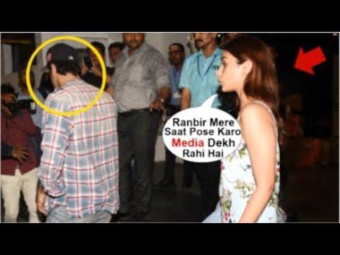 Ranbir Kapoor IGNORES Girlfriend Alia Bhatt In Front Of Media Avengers Endgame Movie Screening
