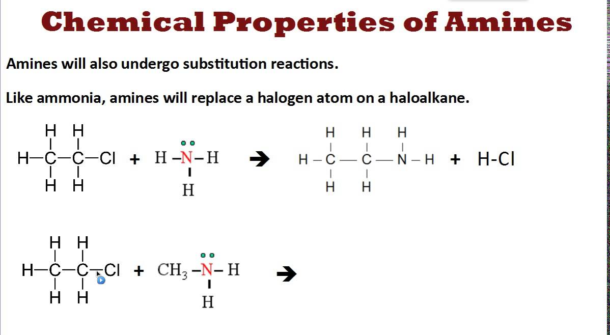 Chemical Properties Of Aniline