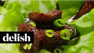 How To Make Mongolian Beef  Delish