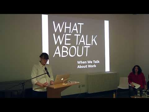 What We Talk About When We Talk About Work | 'Conversation and Exchange: Talking with Children'.