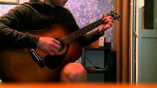Видеоурок игры на гитаре Bahh tee - Не твоим
