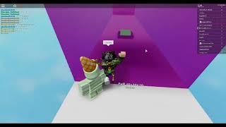 Jogando isso é difícil ROBLOX pulando parede