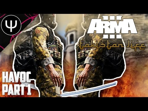 ARMA 3: Takistan Life Mod — Havoc — Part 1 — NATO Sniper Team!