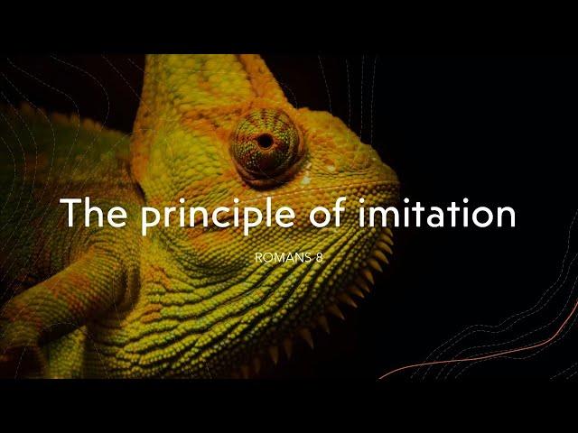 *The Principle of Imitation · 201206 PM Service · Pastor Jerome Pittman