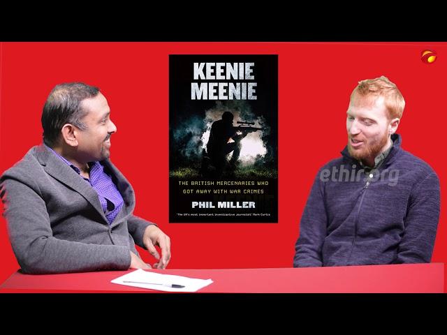 Interview with Phil Miller ( Journalist and author of  Keenie Meenie)