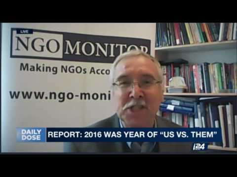 Prof. Gerald Steinberg, i24NEWS, Amnesty and Israel, Feb 22, 2017 ENGLISH