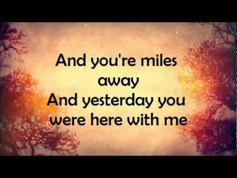 Ed Sheeran- Autumn Leaves- Lyrics
