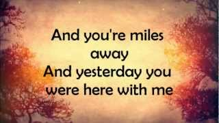 Ed Sheeran- Autumn Leaves- Lyrics