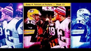 Patriots vs. Packers Week 13 highlights (#4 game in 2014)
