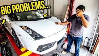 I CAN'T FINISH My Cheap Lamborghini Without YOUR HELP! (SERIOUSLY!)