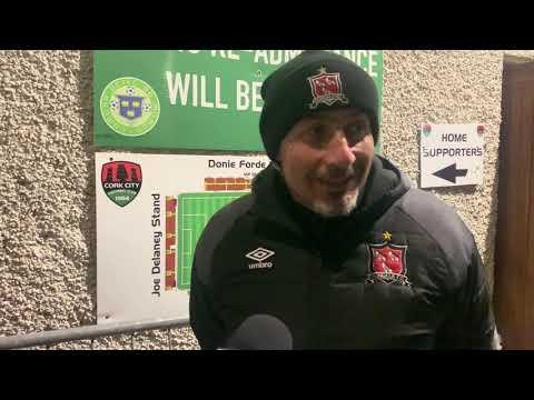 Filippo Giovagnoli Reaction - Cork City 0-2 Dundalk FC