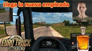 EURO TRUCK SIMULATOR 2 (PC) - Karla Alpiste, la nueva empleada de Vodkiev || Gameplay en Español
