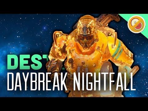 Destiny Daybreak Nightfall - The Dream Team (Funny Moments)