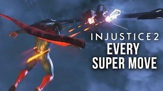 INJUSTICE 2 EVERY SUPER MOVE