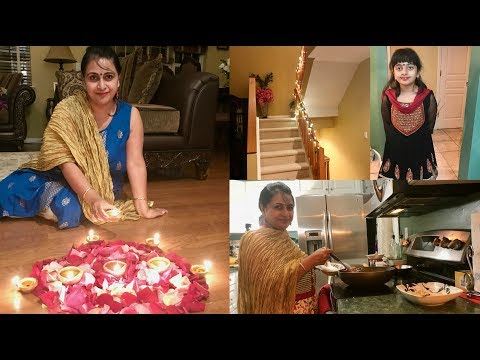 Dhanteras and Choti Diwali Shopping and Preparation (Hindi ) vlog 2017 | Simple Living Wise Thinking