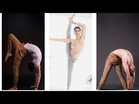 Advance yoga pose with Master Ajay / Jai yoga
