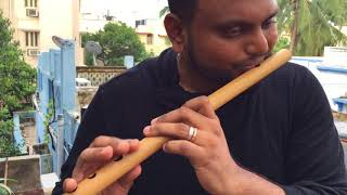 A.R Rahman | Munbe Vaa | Flute Cover | Navin's Notes | #NaNo | #ARR25