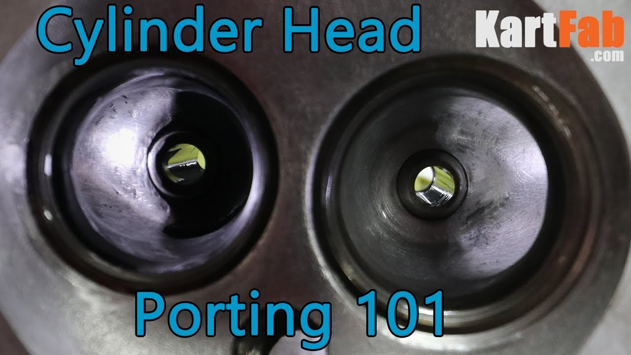How To Port a Cylidner Head: Small Engine Mods 101 - YouTube