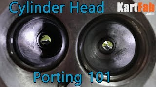 How To Port a Cylidner Head: Small Engine Mods 101