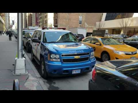 Westchester County Police Department Chevy Tahoe Spotted Parked In Manhattan, New York