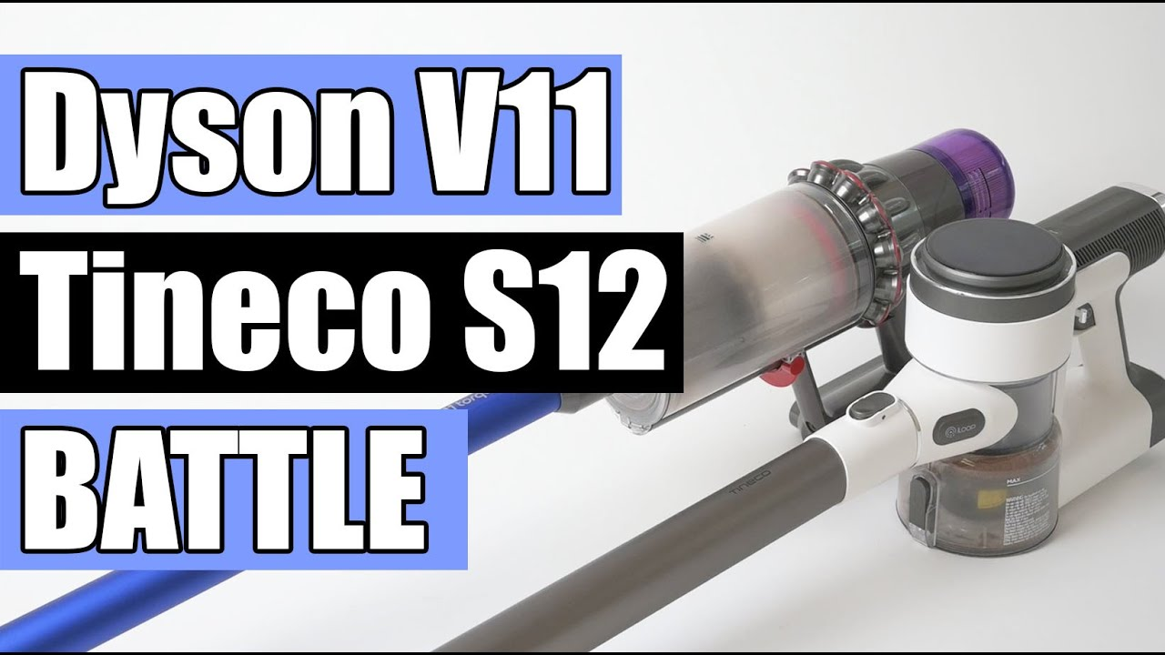 Dyson V11 Torque Drive Vs Tineco Pure One S12 Plus Cordless Vacuum Battle