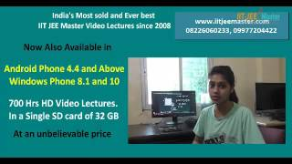 free IIT JEE Main & Advanced online study material