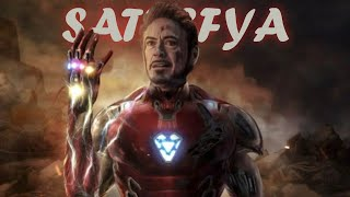 Iron Man | I am A Rider | Best AVENGER - Satisfya