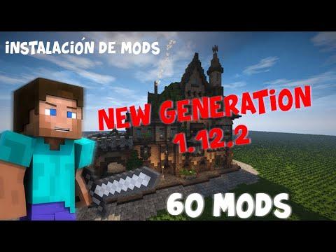 Instalar Mods Server Nueva Generación 1.12.2 / NO PREMIUM