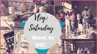 Saturday VLOG:We're going to an event in DC!
