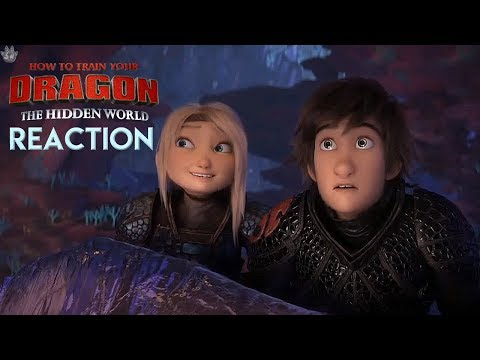 LEGEND OF THE HIDDEN WORLD CLIP! *Reaction* How to train your Dragon