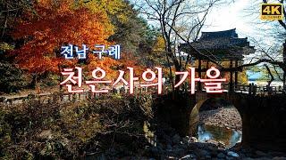 전남 구례 천은사의 가을(Autumn of Chonun…