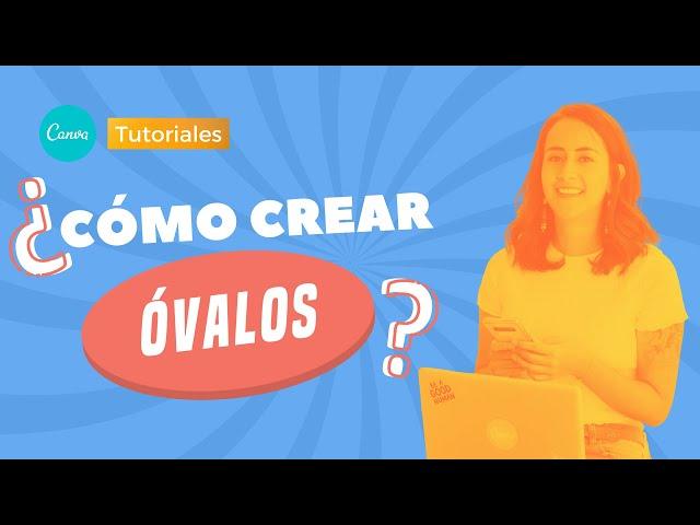 Cómo Crear Óvalos en Canva | Aprende Canva con Diana Muñoz