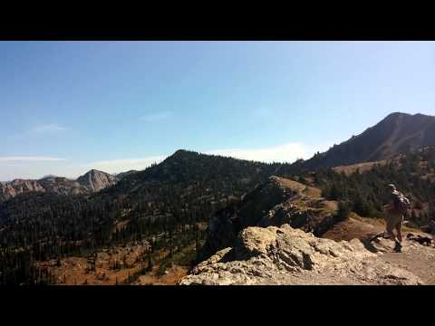 Mt. Aeneas, Hiking jewel basin, Montana, Sept. 201