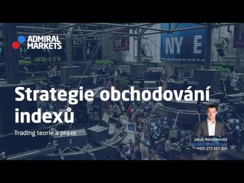 Straregie obchodování indexů: CFD DAX, DJI, SP500, FTSE a další