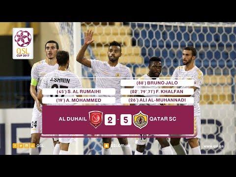 AL Duhail 2 - 5 Qatar Sports Club | Round 1