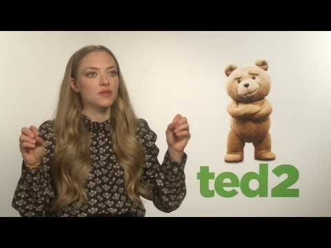 Amanda Seyfried Interview - Ted 2