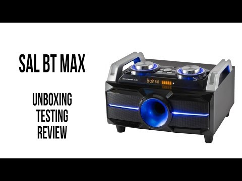 Sal BT-MAX - Unboxing, Test I Review