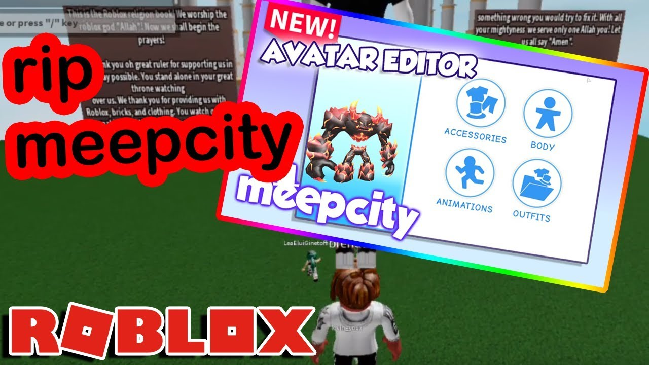 So Meepcity Got Hacked On Roblox Yesterday And It Was Really Bad