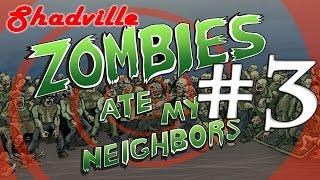 Zombies Ate My Neighbors (Sega, 16 bit) прохождение игры #3