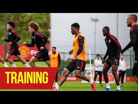 Training |  Skills in rounds and finishing exercises |  United manchester