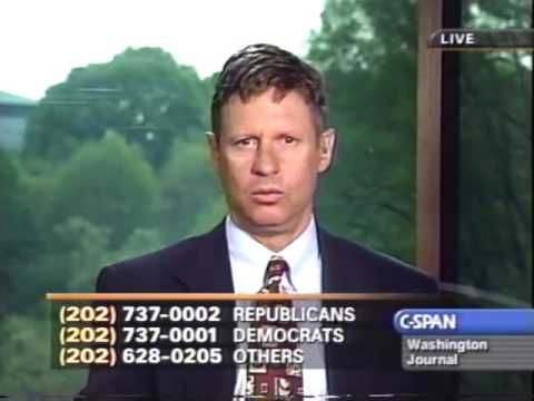 Gov, Gary Johnson discussing Drug Law Reform on C-SPAN 4/23/2001