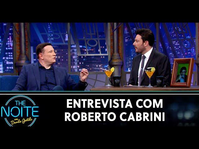 Entrevista com Roberto Cabrini   The Noite (25/05/20)