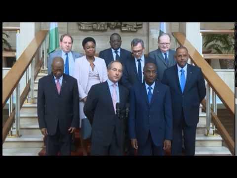 Côte d'Ivoire : audience accorée au DG du Group Société Générale